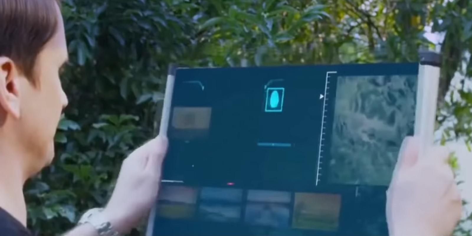 TCL zaprezentowało projekt koncepcyjny zwijanego, drukowanego ekranu OLED [CES 2021]