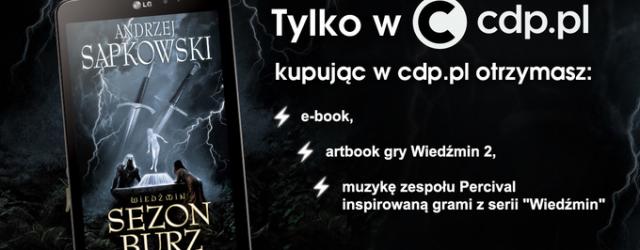 Wiedźmiński e-book w sprzedaży