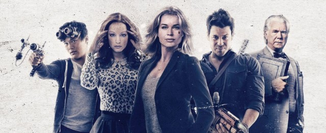 Tęsknię za Mystique – wywiad z Rebeką Romijn, Eve z serialu Bibliotekarze