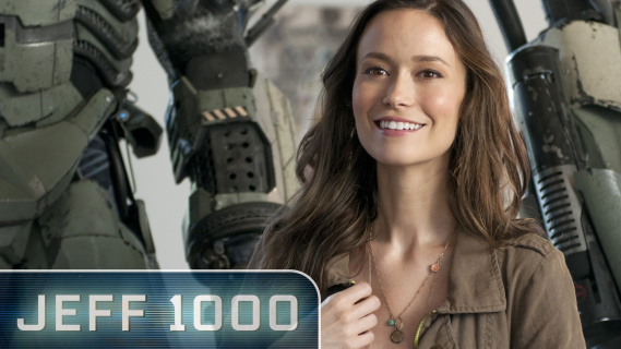 "Summer Glau i wielki robot w serialu ""Jeff 1000"""