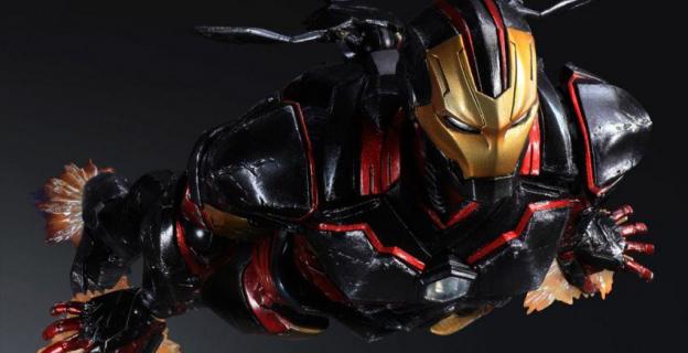 """Iron Man w wykonaniu wydawcy gier """"Final Fantasy""""!"""
