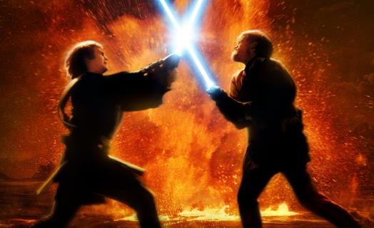 Gwiezdne Wojny – walka na miecze świetlne podczas koncertu muzyki z filmu