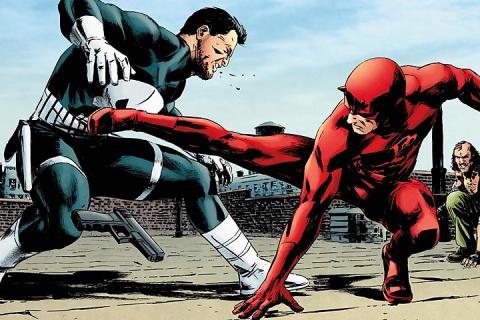 Daredevil kontra Punisher – historia konfliktu
