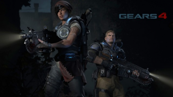 Marcus Fenix i syn na nowym zwiastunie Gears of War 4