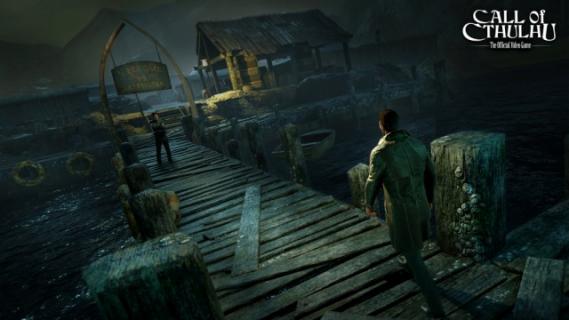 Klimatyczny materiał z rozgrywką z gry Call of Cthulhu