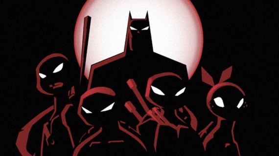 Kreskówkowe Żółwie Ninja i Batman razem w komiksie