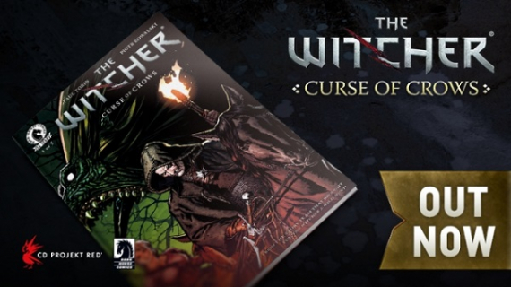 Komiks The Witcher: Curse of Crows z rysunkami Polaka