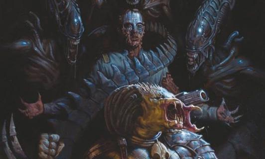 Predatorzy i dzikie bestie na planszach z komiksu