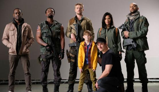 Ekipa filmu The Predator szykuje się do dokrętek
