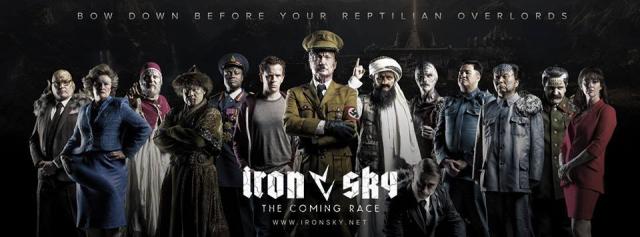 Hitler i dinozaury! Obejrzyj pełny zwiastun Iron Sky 2: The Coming Race