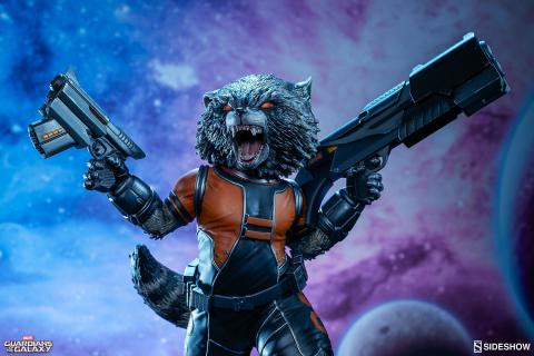 Zobacz zdjęcia kapitalnych figurek kolekcjonerskich Rocket Raccoona i Iron Mana