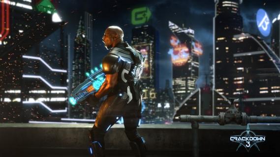 Crackdown 3 – gameplay przedstawia tryb dla jednego gracza