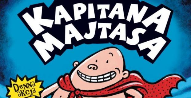 Kapitan Majtas szykuje mocne uderzenie na księgarnie