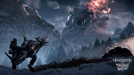 Mroźna północ w zwiastunie Horizon Zero Dawn: The Frozen Wilds