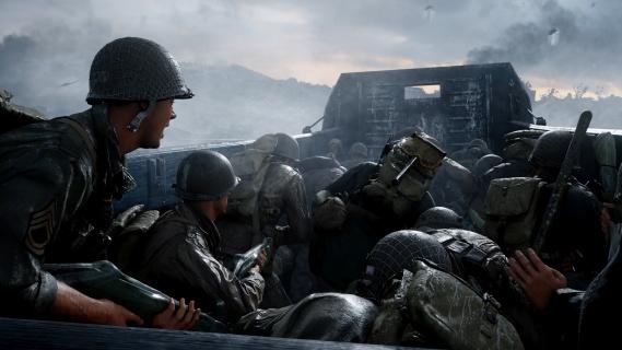 Wilczy Szaniec jedną z map dodatku do Call of Duty: WWII
