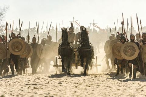 Tak będzie wyglądał Achilles w serialu o wojnie trojańskiej. W sieci wrze