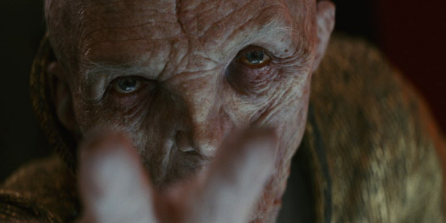Ostatni Jedi – Andy Serkis o zaskakującym wątku Snoke'a