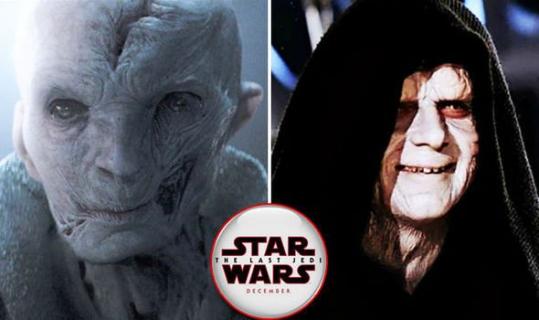 Snoke, Vader czy Imperator? Wiemy już, kto z nich jest najpotężniejszy