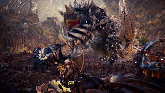 Wielki potwory i piękny świat. Zwiastun Monster Hunter: World