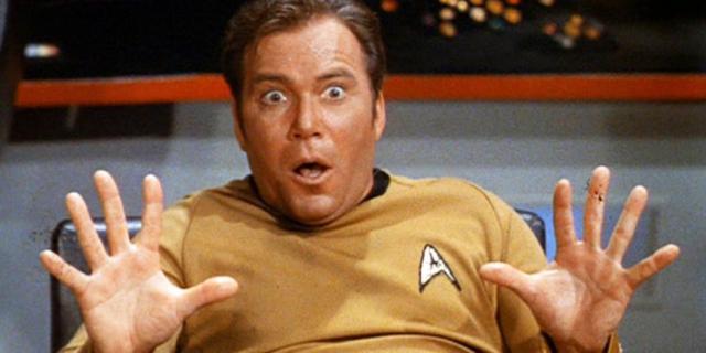 William Shatner gościnnie w serialu Teoria wielkiego podrywu