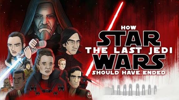 Ostatni Jedi – oto, jak powinien skończyć się film. Epicka parodia