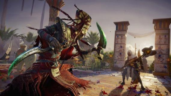 Klątwa Faraonów do Assassin's Creed: Origins opóźniona