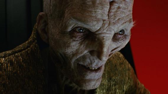 Ostatni Jedi – Andy Serkis żałuje tego, jak potoczył się los Snoke'a