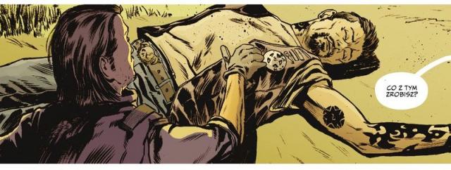 Briggs Land #01: Kobieca ręka – recenzja komiksu