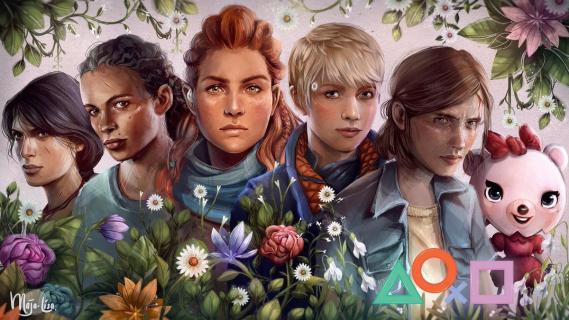 Sony również świętuje Dzień Kobiet. Darmowy motyw dla PlayStation 4 z bohaterkami gier