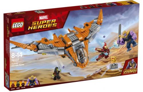 [WYNIKI KONKURSU]: Wygraj zestawy LEGO z filmu Avengers: Wojna bez granic