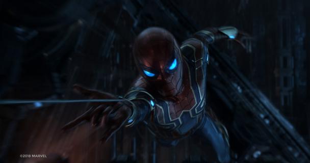 Avengers: Wojna bez granic – zobacz kolejne zdjęcia. Star-Lord vs. Spider-Man