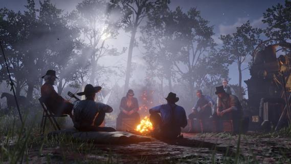 Piękny Dziki Zachód na efektownych screenach z Red Dead Redemption 2