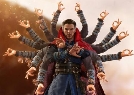 Avengers: Wojna bez granic – figurka Doktora Strange'a robi wrażenie. Zdjęcia