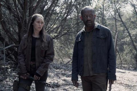 Zombie i emocje. Zwiastun sezonu 4B Fear the Walking Dead