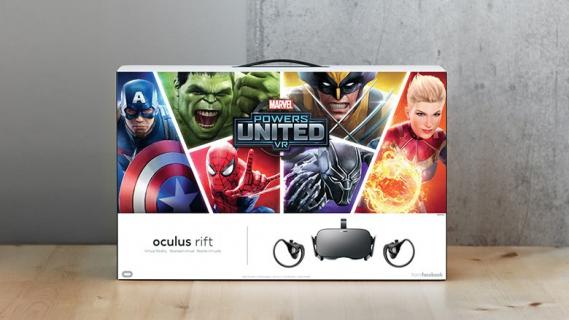 [SDCC 2018] Oculus z Marvel Powers United VR w pakiecie