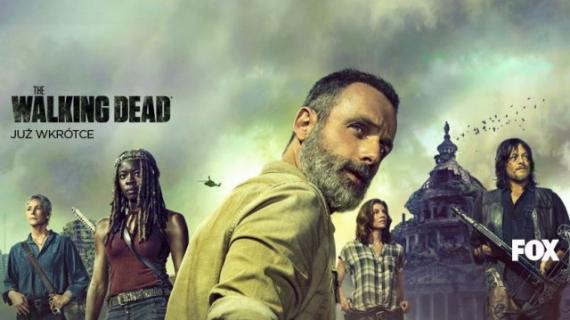 Rick i spółka  powracają. Zwiastun 9. sezonu The Walking Dead