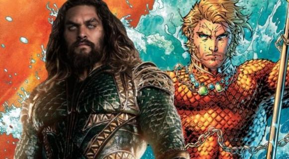[SDCC 2018] Aquaman – heros założył swój ikoniczny strój. Jest grafika i figurki