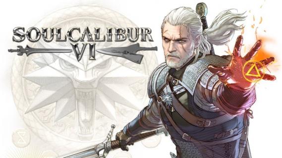 Grywalny Geralt w SoulCalibur VI na imprezie Cracow Game Days