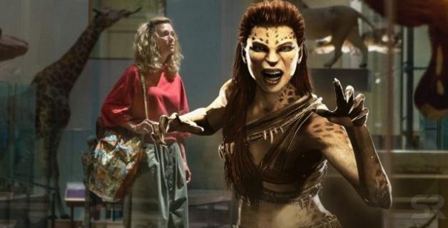 Wonder Woman 1984 – walcząca Kristen Wiig na planie filmu