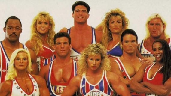 Nowa wersja programu American Gladiators? Seth Rogen wśród producentów