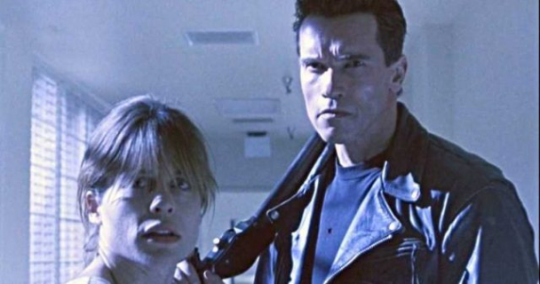 Terminator 6 – Schwarzenegger i Hamilton znów razem na planie. Zobacz zdjęcie