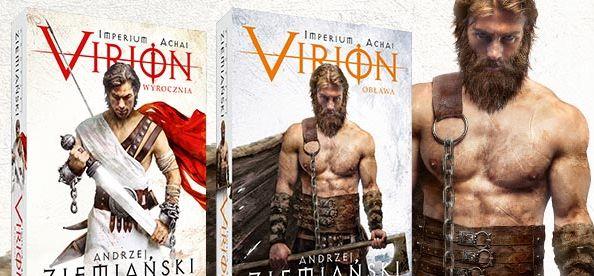 Virion. Obława – nowa powieść w świecie Achai w księgarniach