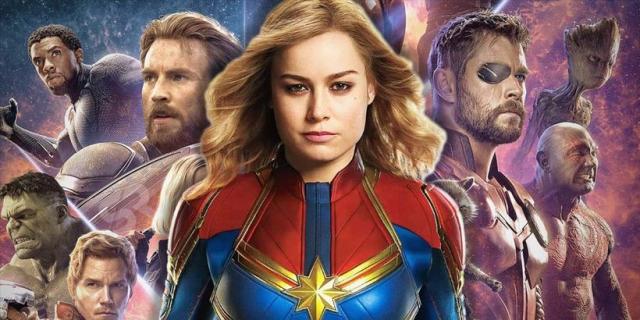 Captain Marvel silniejsza niż Avengers – zobacz nowe fanarty