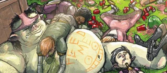 Październikowe premiery Non Stop Comics: obejrzyj okładki i plansze