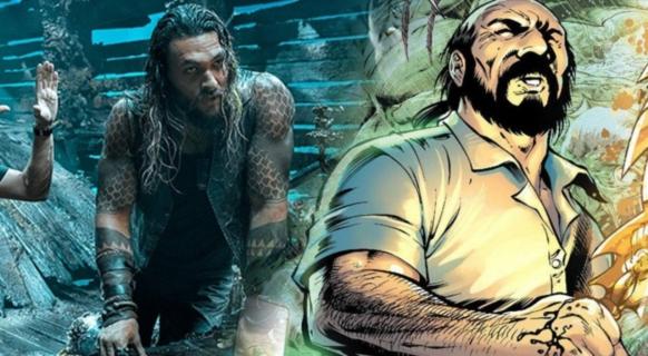 Willem Dafoe na olbrzymim rekinie. Nowe zdjęcie z filmu Aquaman