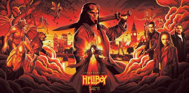 Hellboy - recenzje już w sieci. Nie jest dobrze