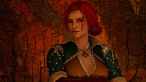 Triss Merigold w grze Wiedźmin 3: Dziki Gon mogła wyglądać inaczej. Zobacz grafiki koncepcyjne