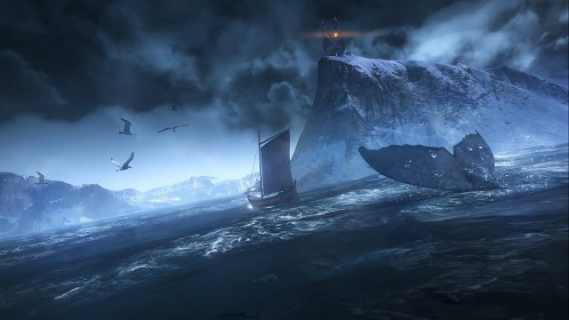Wiedźmin 3 – Płotka miała podróżować z Geraltem nie tylko na lądzie