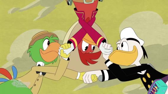 Kacze opowieści – Trzej Caballeros w serialu. Zobacz teaser