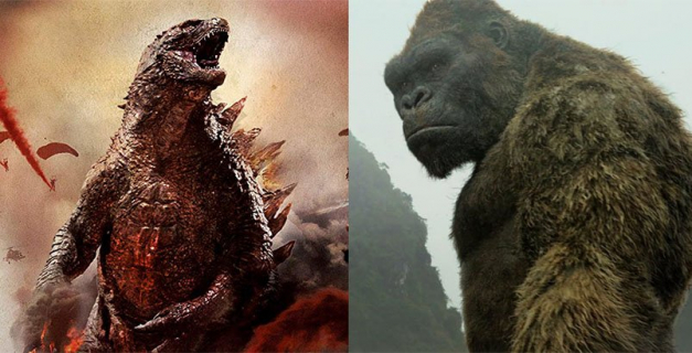 Godzilla vs Kong – szkic koncepcyjny. King Kong w rozmiarze Króla Potworów